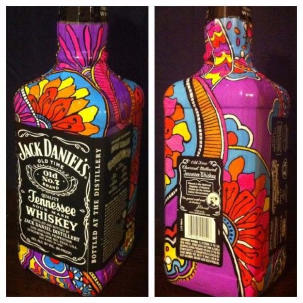 19 Fun Diy Ideas Inspired By Jack Daniels Do It Yourself Ideas And