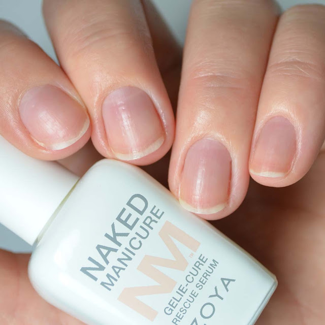 nail serum applied to nails