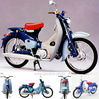 Honda Super Cub C100 motorcycle