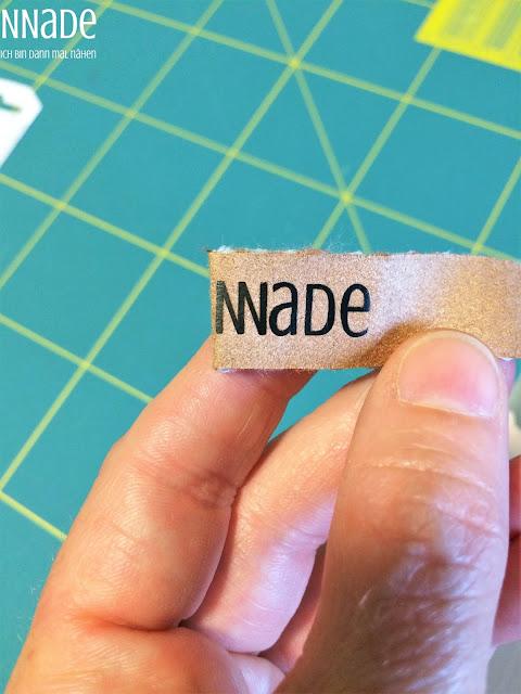 Label selber machen NNade