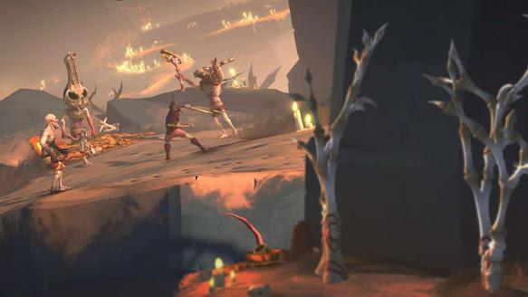 Gods Will Fall gameplay snapshot
