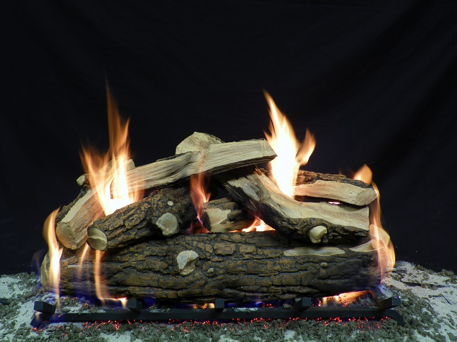 Ceramic Logs For Gas Fireplace Ceramic Logs For Gas Fire Pit