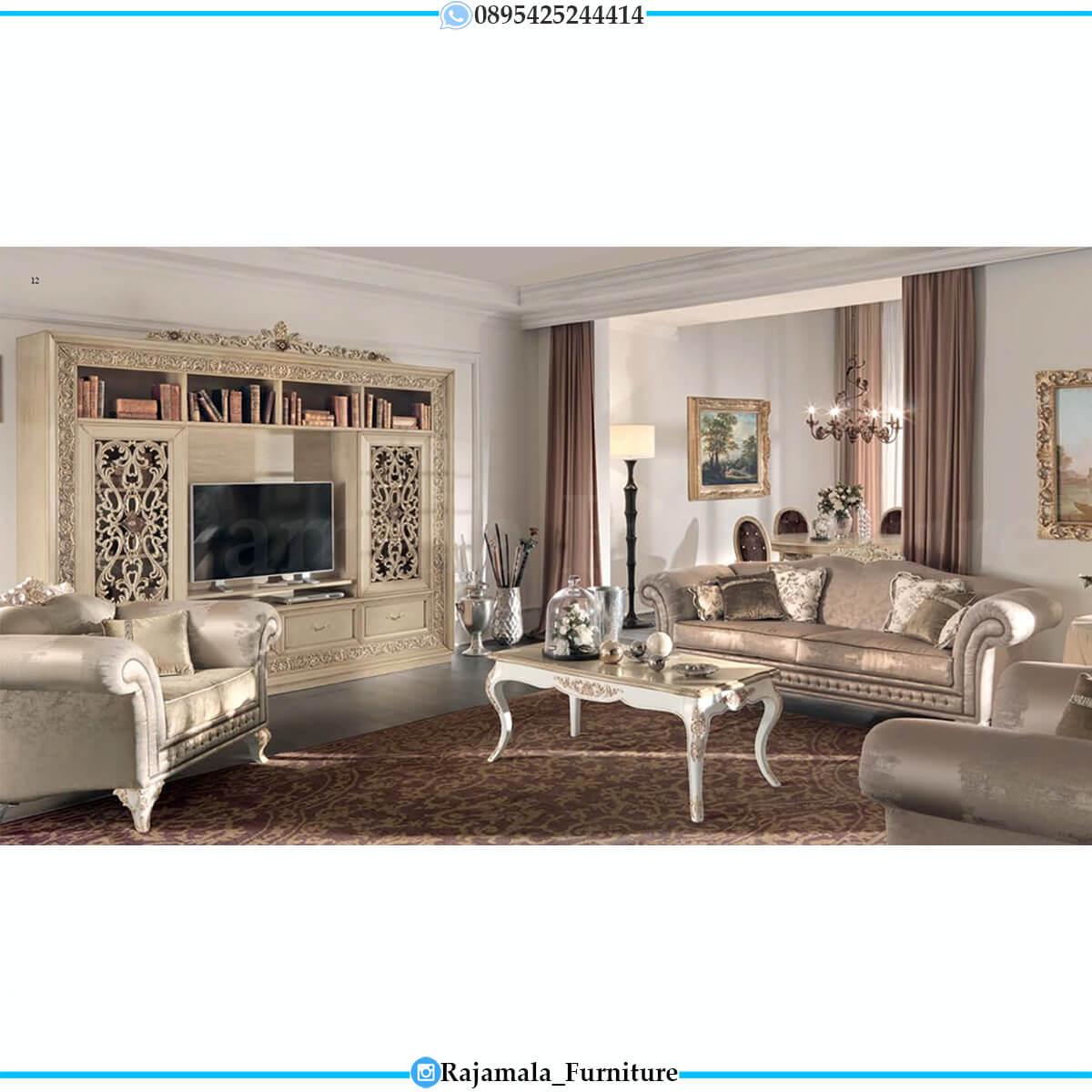 Desain Sofa Tamu Mewah Jepara Luxury Carving Best Seller RM-0745