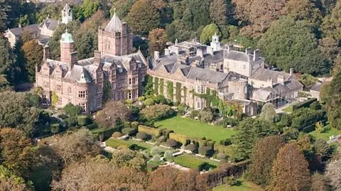 Holker Hall the Lake District (England)