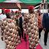 Check Out President Buhari Wearing Isiagu (Igbo Attire) In Ebonyi