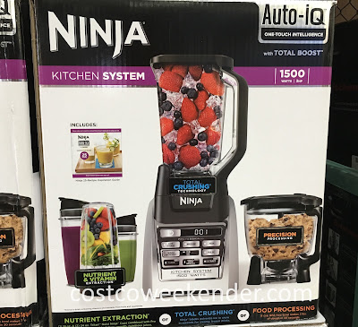 Blend or make sauces or smoothies with the Ninja Auto-IQ Kitchen System
