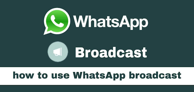 What is Broadcast? How to Use Whatsapp Broadcast - Learn the Benefits of Whatsapp Broadcast in English! 2019 modmafias.com
