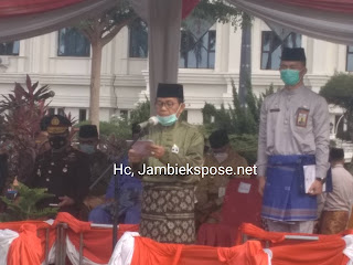 Gubernur Jambi Jadi Irup Peringati HUT Provinsi Jambi Ke-64