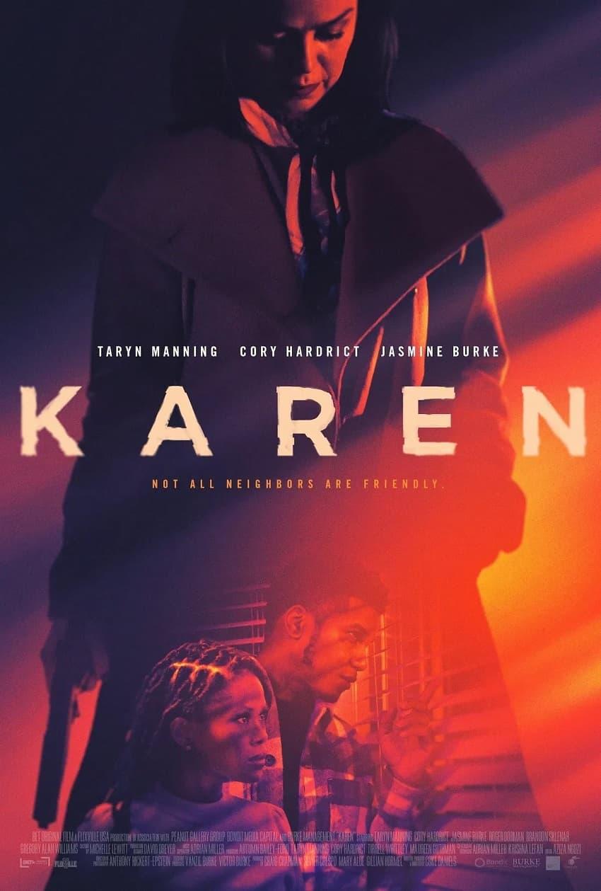 Вышел трейлер социального хоррора «Карен» про сумасшедшую соседку - Постер