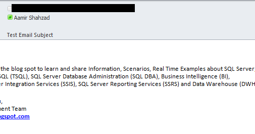 Welcome To TechBrothersIT: TSQL - How To Send Email From SQL Server