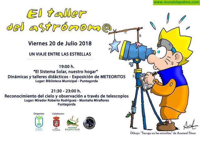 Taller del Astrónomo en Puntagorda