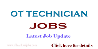OT Technician Recruitment - GOVERNMENT OF ANDHRA PRADESH