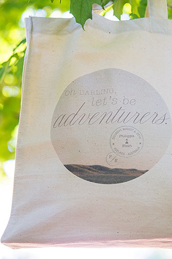 Canvas Darling Lets Be Adventurers Gift Bags