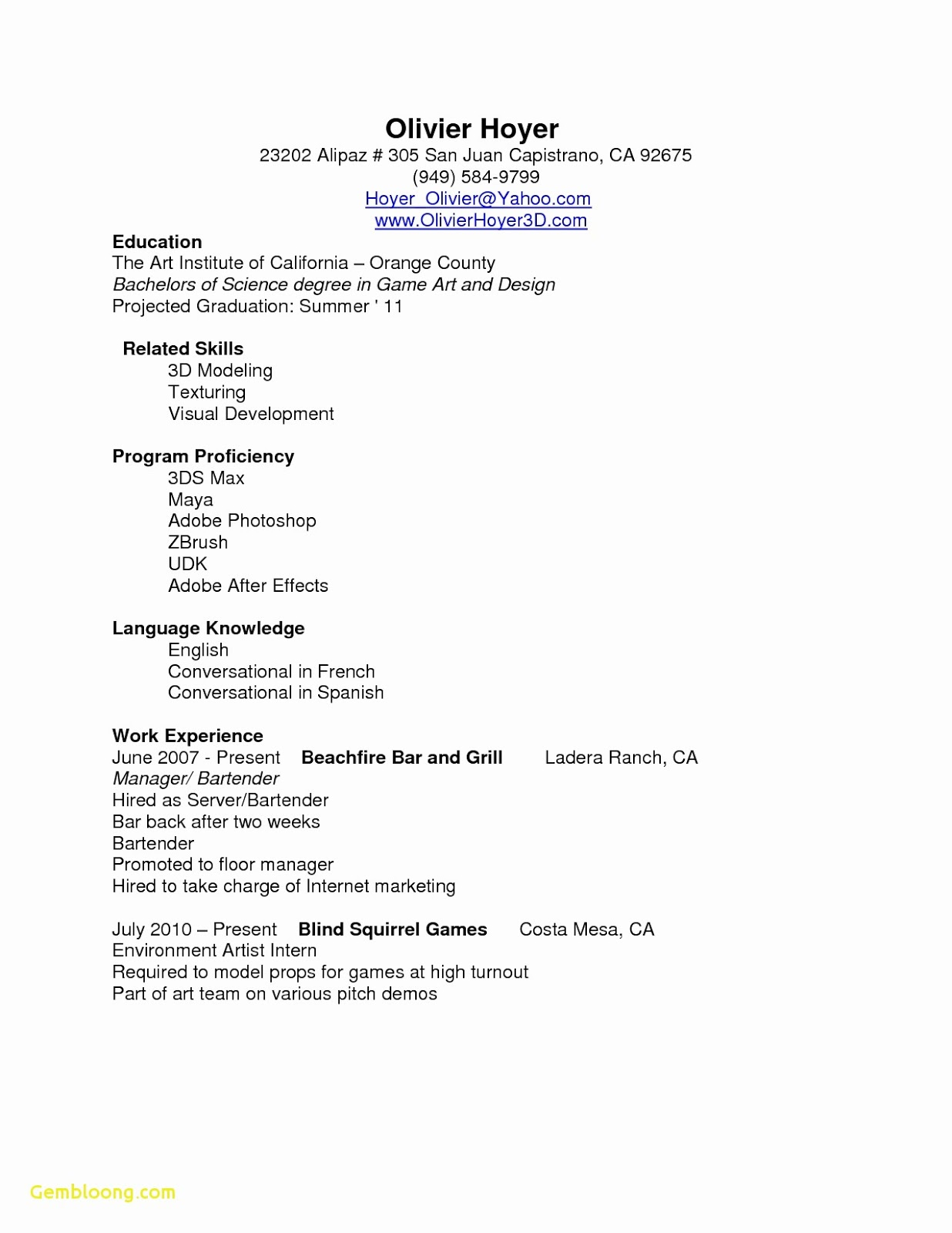 Barback Resume Sample 2019 Sample Resume For Barback 2020 barback resume sample barback resume example sample resume for barback barback resume objective example barback resume samples barback resume examples barback resume sample