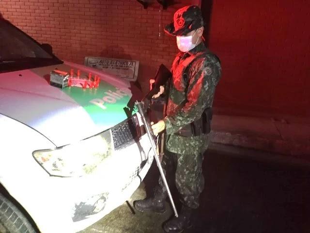 Policia Ambiental prende homem em Miracatu por crime de posse ilegal de arma de fogo