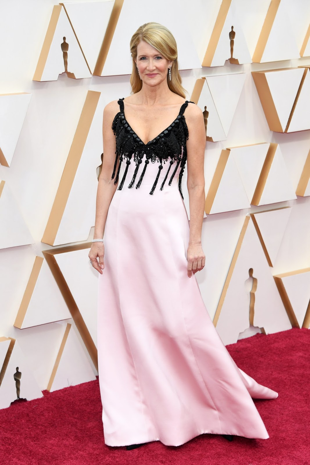 Laura Dern flaunts Armani Prive at the 2020 Academy Awards in Hollywood