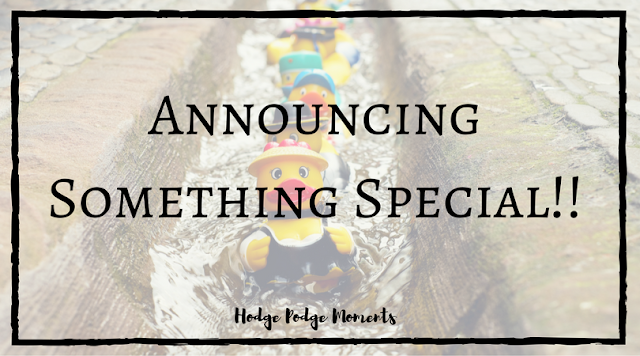 Announcing Something Special