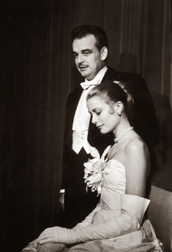 old pictures of grace kelly and prince rainier iii of