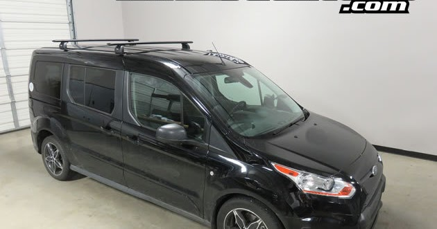 rack outfitters ford transit connect passenger van thule black aeroblade roof rack 39 14 39 16. Black Bedroom Furniture Sets. Home Design Ideas