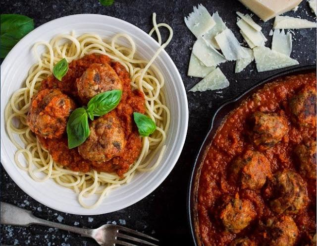 Vegetarian Mushroom Meatballs #vegetarian #dinner