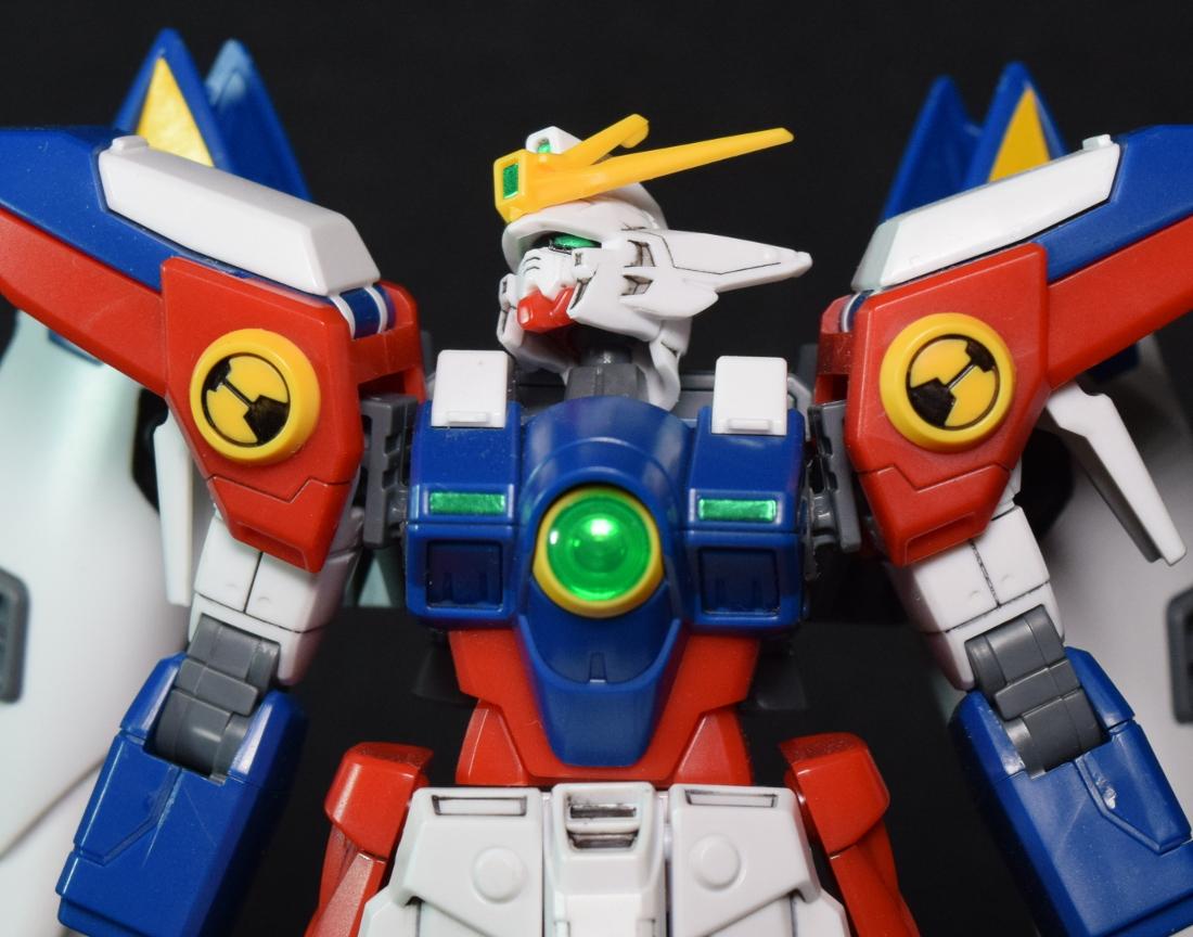 Yellow Trim shoulder Gundam Accessory Wing Gundam