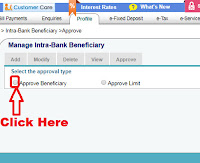 how to add sbi beneficiary in sbi