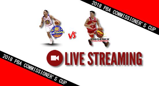 Livestream List: TNT vs Phoenix April 28, 2018 PBA Commissioner's Cup