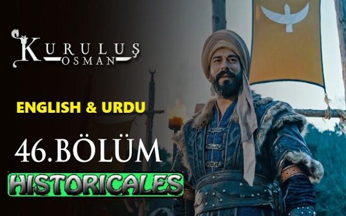 Kurulus Osman Season 2  Episode 46 English & Urdu Subtitles | Watch Online Movie Free hd Download