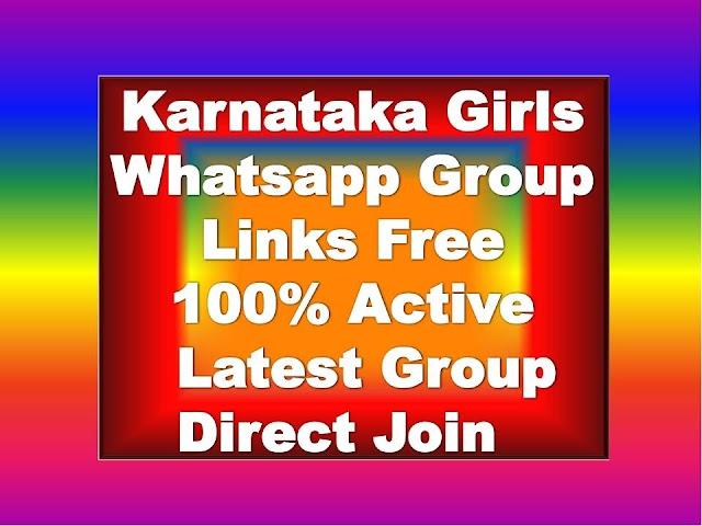 Karnataka Girls Whatsapp Group Links