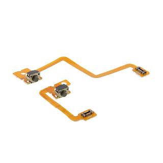 Left Right L/R Shoulder Button Repair +Flex Cable Part For 3DS Replacement