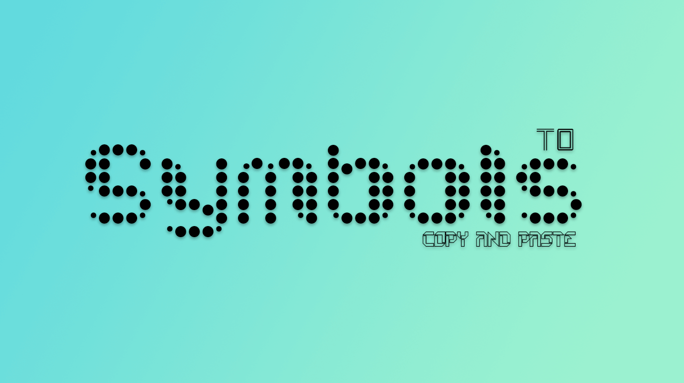 symbols to copy and paste - share cool emojis, symbols online