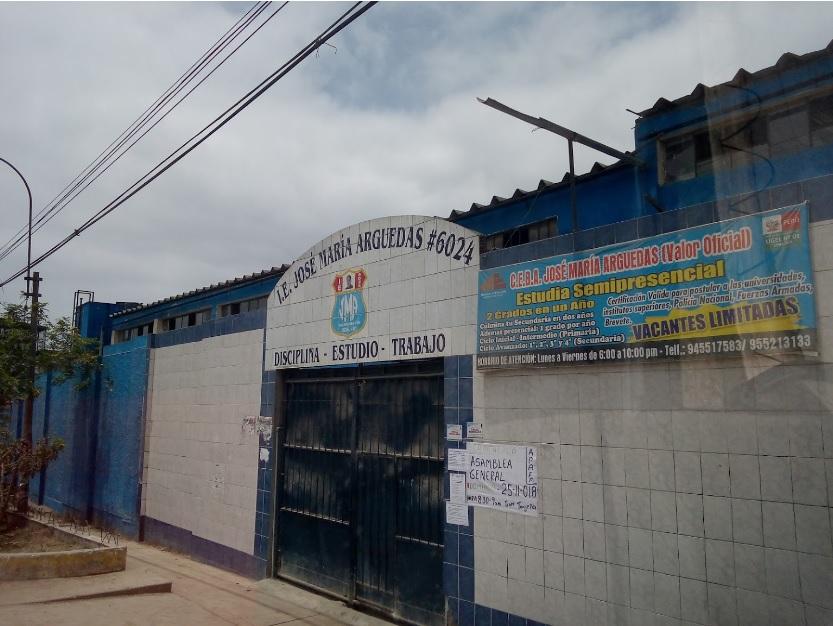 Colegio 6024 JOSE MARIA ARGUEDAS - Villa Maria del Triunfo