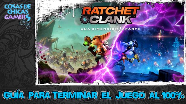 Guía Ratchet and Clank una dimensión aparte PS5
