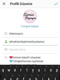 instagram isimleri nasil degisir