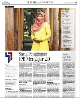 Siti Zulaedah, Penggagas IPB Mengajar 2.0