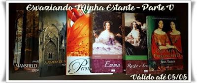 Seis livros da Jane Austen