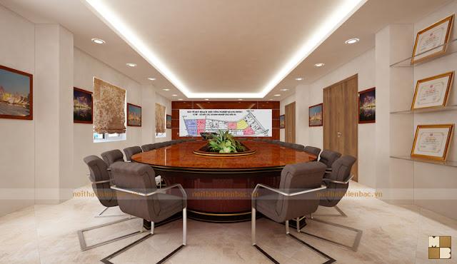 Đây là một mẫu ghế phòng họp chân quỳ sang trọng thể hiện được vẻ đẹp này cho cả căn phòng