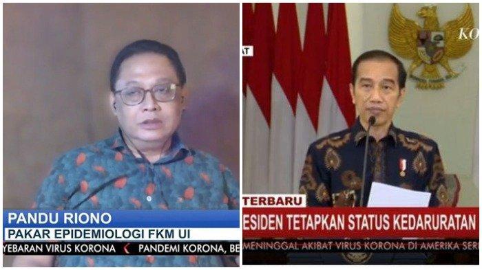 Soroti Cara Pemerintah Tangani Covid-19, Pakar Wabah: Mungkin Pandemi Ini Belum Akan Selesai Selama Jokowi Masih Jadi Presiden