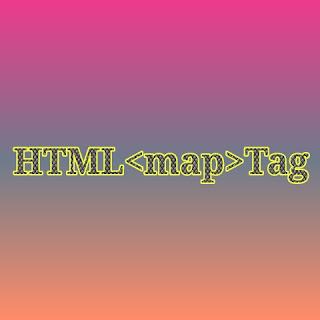 HTML <map> tag