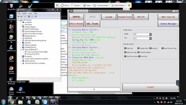 How to Unlock Pattern / FRP Lock Vivo Y83 1802 via Remote Teamviewer