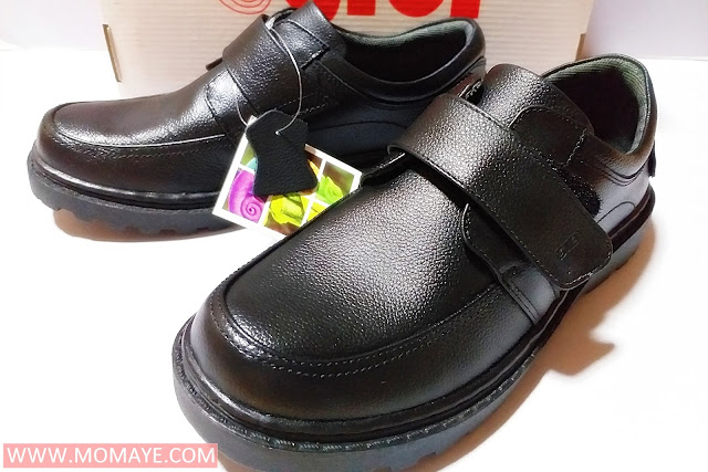 Gibi shoes, black school shoes, back to school