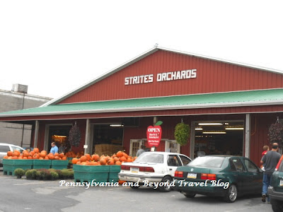Strites' Orchard Farmer's Market and Bakery in Harrisburg Pennsylvania