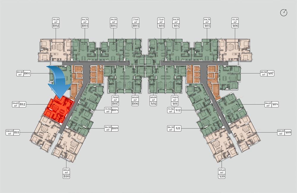 Căn hộ EverRich Quận 5 cho thuê giá rẻ - vị trí căn hộ