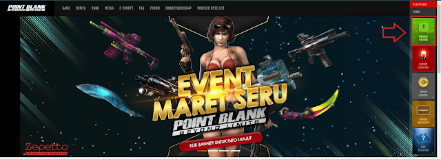 website resmi Point Blank Indonesia