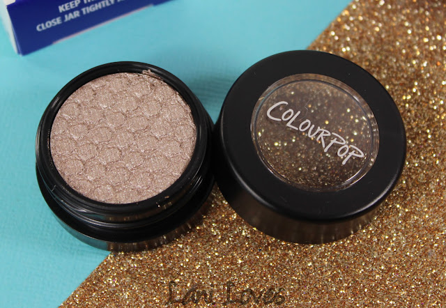 ColourPop Super Shock Shadow - Koosh Swatches & Review