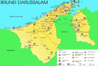 Letak Geografis Brunei Darusalam