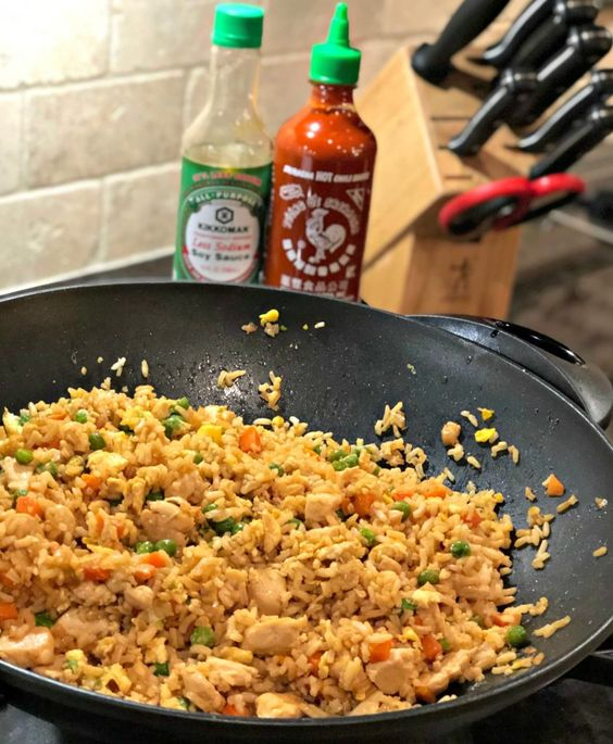 BETTER THAN TAKEOUT CHICKEN FRIED RICE #recipes #dinnertonight #food #foodporn #healthy #yummy #instafood #foodie #delicious #dinner #breakfast #dessert #lunch #vegan #cake #eatclean #homemade #diet #healthyfood #cleaneating #foodstagram
