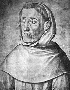 Imagen de Fray Luis de León en grises