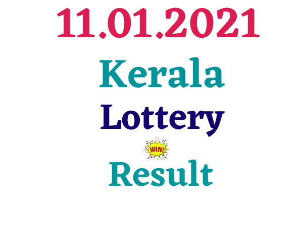 Today kerala lottery result