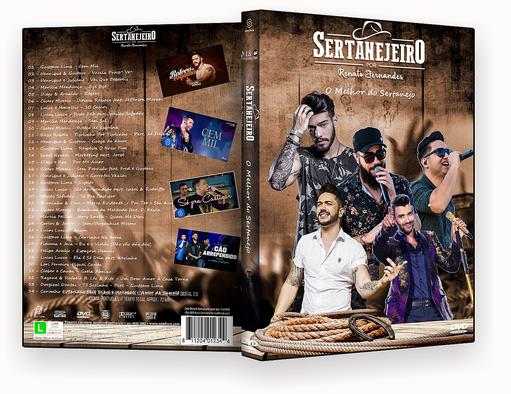 CAPA DVD – Sertanejeiro O Melhor Do Sertanejo DVD-R